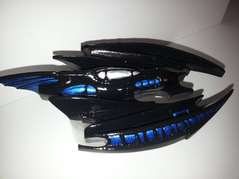 Batman Forever Batcave and Ship Custom Paint