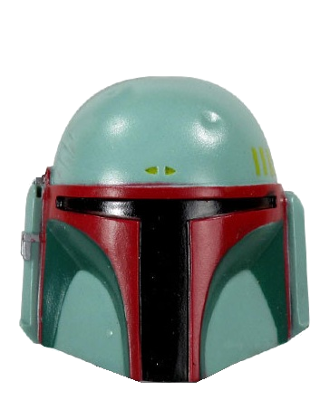 Star Wars Character Head Shooter Boba Fett