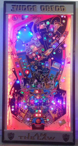Judge Dredd Framed Playfield