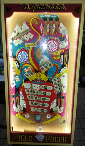 Joker Poker Framed Playfield