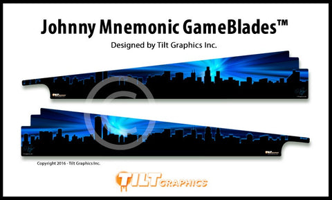 Johnny Mnemonic Pinball GameBlades™
