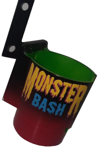 Monster Bash PinCup Title Logo