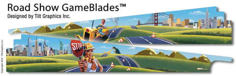 Road Show Pinball GameBlades™