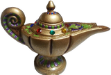 Tales of the Arabian Nights Bejeweled Aladdin Lamp