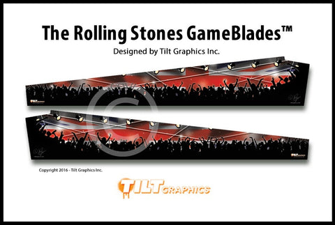 "The Rolling Stones Stern Pinball GameBlades™ ""Concert"""