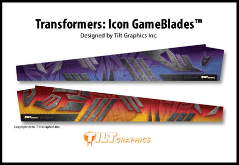 Transformers Mirrored Pinball GameBlades™