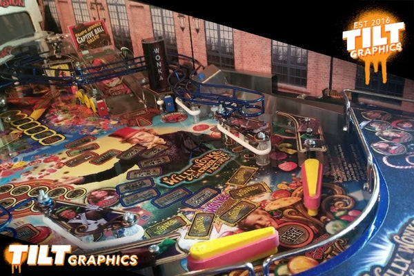 Willy Wonka Gameblades Quot Factory Quot Modfather Pinball Mods