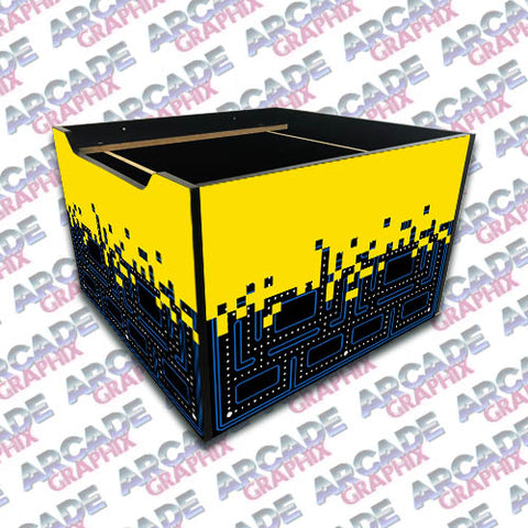 Arcade 1up Pacman Riser Graphics Pixel
