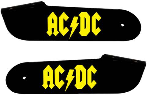 "ACDC Hinge Decals ""Yellow"""