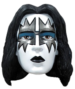 Kiss Character Head Shooter Ace Frehley