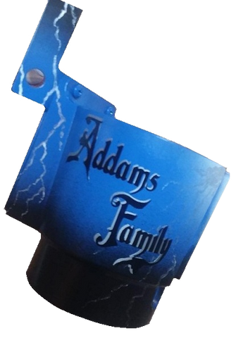 Addams Family PinCup With Logo