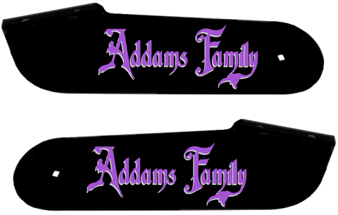 "Addams Family Hinge Decals ""Two Tone"""