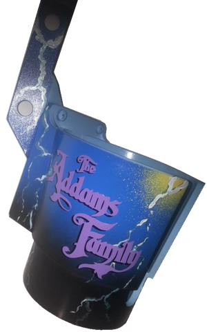 "Addams Family PinCup ""Purple Logo"""