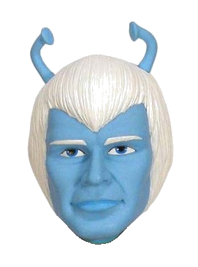 "Star Trek ""Andorian"" Character Head Shooter"