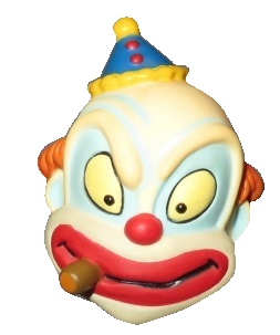 "Character Head Shooter "" Angry Clown"""