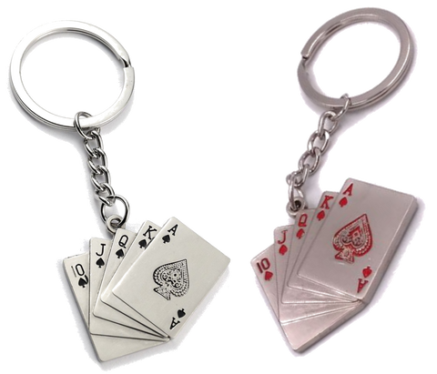 "Aerosmith Keychain ""Cards"""