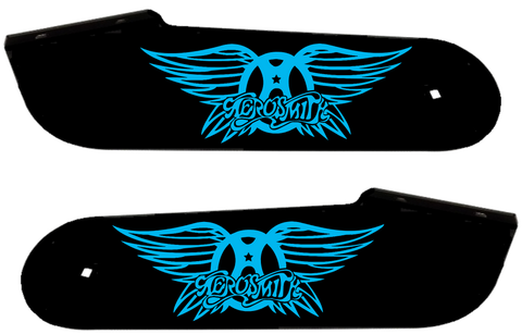 "Aerosmith Hinge Decals ""Blue"""