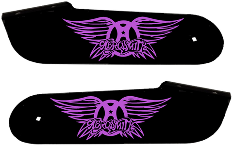 "Aerosmith Hinge Decals ""Purple"""