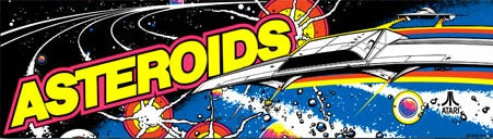 Arcade 1up Asteroids Marquee