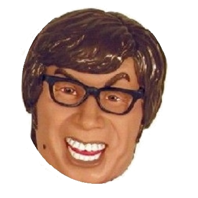Austin Powers Character Head Shooter