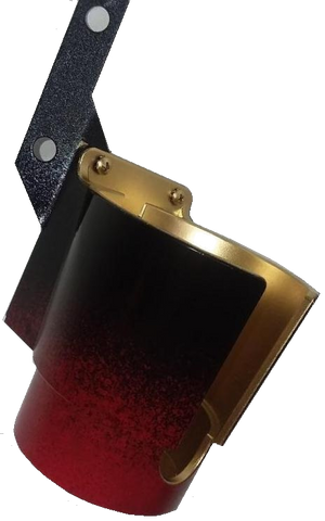 Black/Red/Gold Pincup