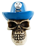 Pirate Skull Top Hat Shooter Rod
