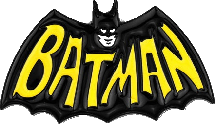 Batman 66 Logo Plaque