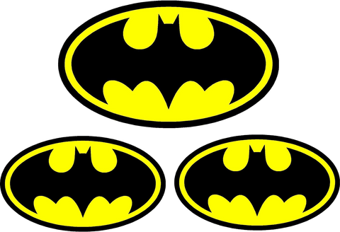 Batman 66 Decal Kit