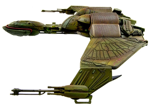 Star Trek Bird of Prey Ship