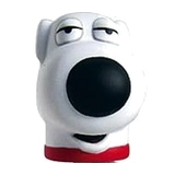 "Family Guy ""Brian"" Character Head Shooter"