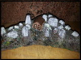 BSD Custom Painted Village Plastics (Village, Cemetery, Castle)