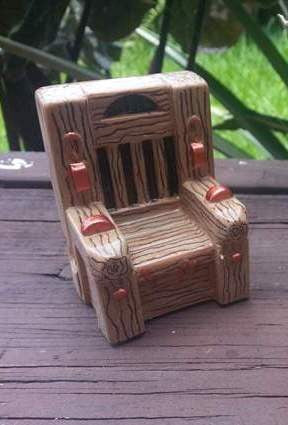 Addams Family Custom Painted Chair