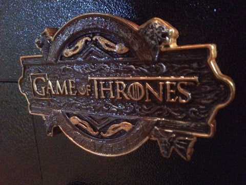 Game Of Thrones Coin Door Plaque