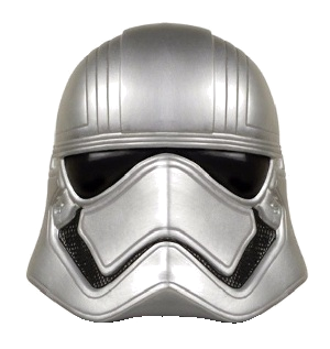 Star Wars Character Head Shooter Captain Phasma