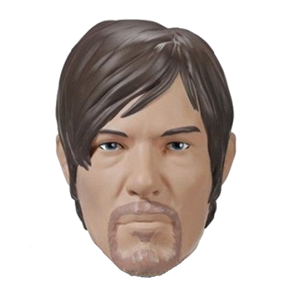 "Walking Dead ""Daryl"" Character Head Shooter"