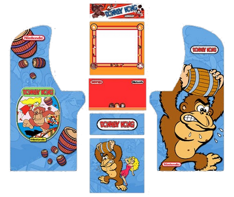 Arcade 1up Donkey Kong Complete Kit