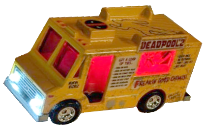 Deadpool Interactive Chimichanga Truck