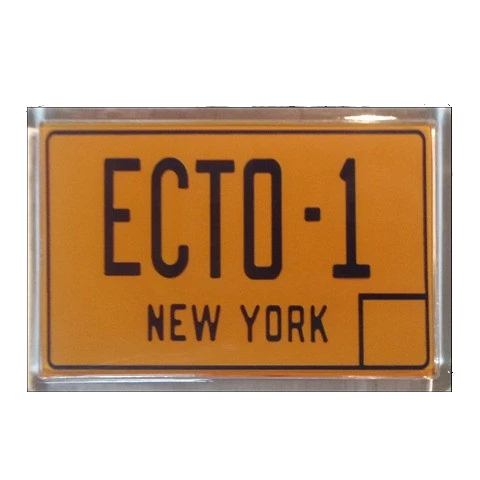 "Ghostbusters ""ECTO"" plaque"