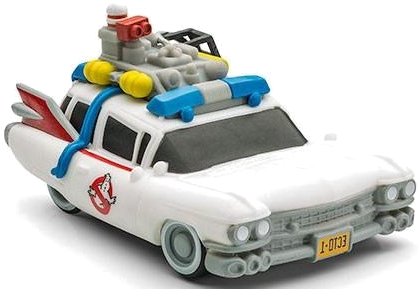 Ghostbusters Ecto-1 Car Large With LED Lights