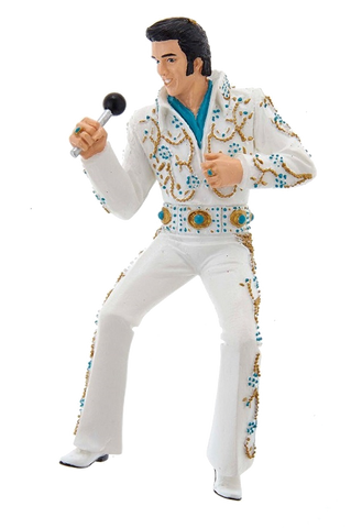 Elvis Playfield Character White Jump Suit
