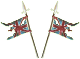 Iron Maiden British Flag