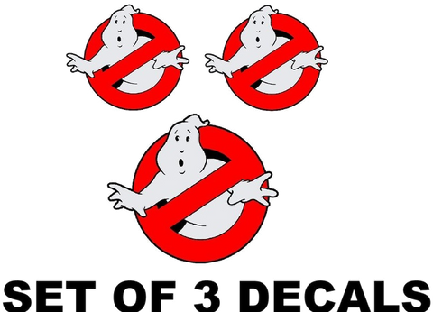 Ghostbusters decal kit