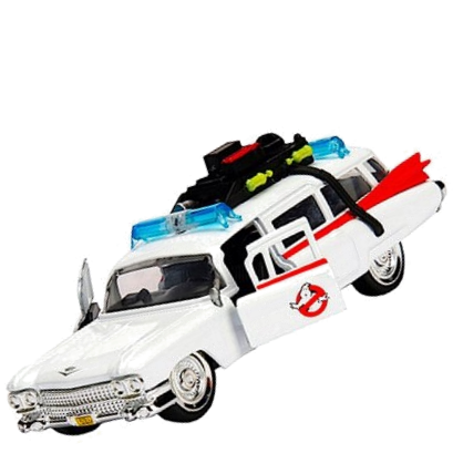 Ghostbusters Ecto-1 Car Large with LED's (Diecast)