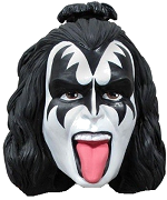 Kiss Character Head Shooter Gene Simmons