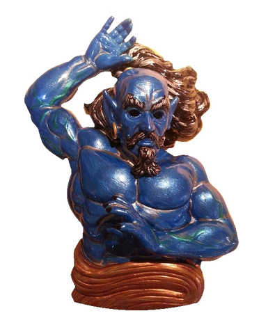 Tales of the Arabian Nights Custom Painted Genie