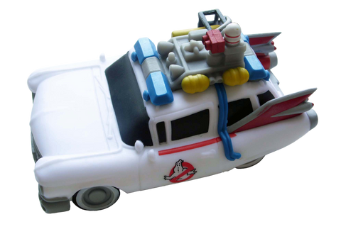 Ghostbusters Ecto-1 Car Large with LED's (Vinyl)