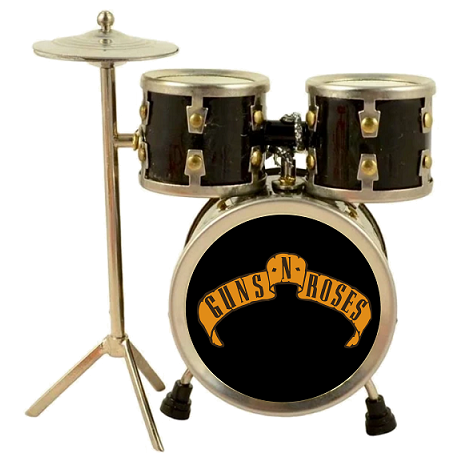 Guns N' Roses Playfield Drum Set
