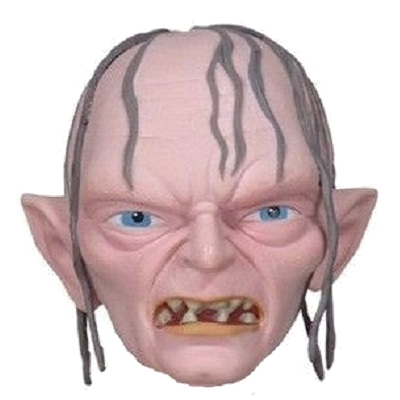 "Hobbit ""Gollum"" Character Head Shooter"