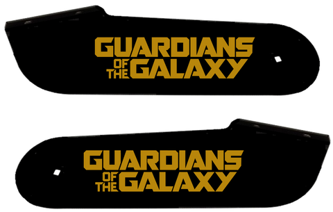 "Guardians of The Galaxy Hinge Decals ""Gold"""