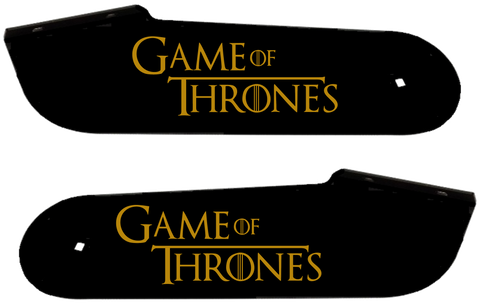 "Game of Thrones Hinge Decals ""Gold"""